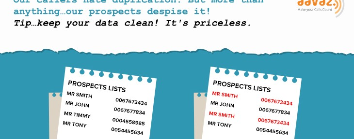 Data Tips! Keep Your Data Clean! It's Priceless.