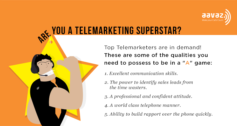 be a telemarketing superstar