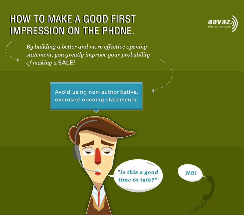 How to make a good first impression on the phone